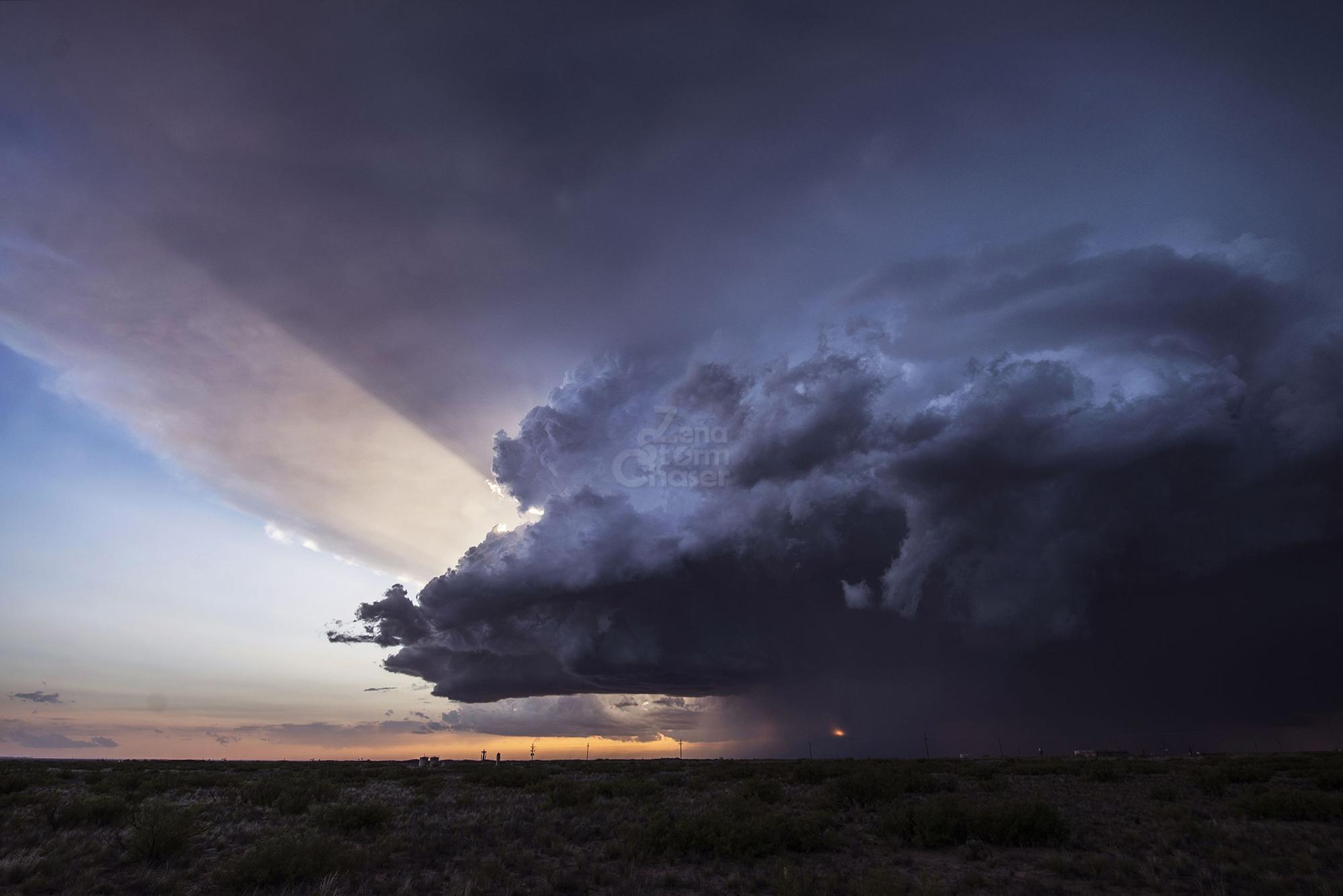 Obbs supercells New Messico – 25 may 2014