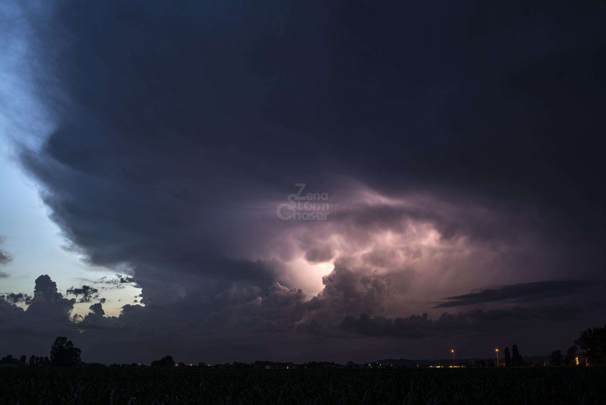 Supercella piemontese temporale serale 17 giugno 2016_7