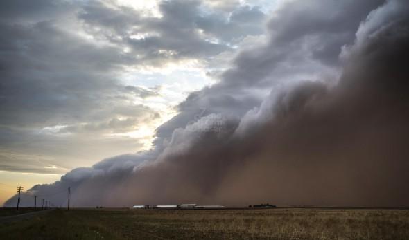 """Haboob"", tempesta di sabbia"